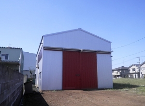 新潟市東区 工場外壁及び屋根更新工事