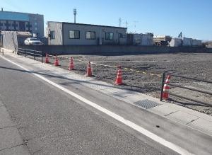 新潟市東区 資材置き場造成工事
